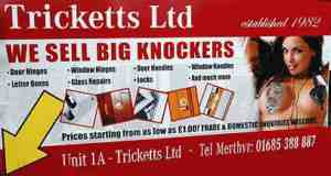big knockers advert