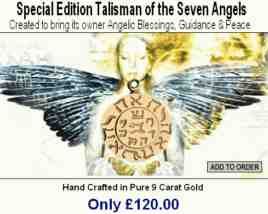 talisman of the 7 angels advert
