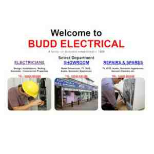 budd electrical advert