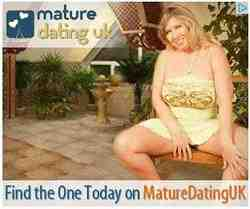 mature dating uk advert