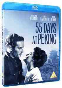 55 Days At Peking Blu ray