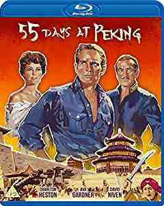 55 Days at Peking Blu-ray