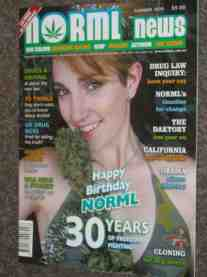 Norml News cover
