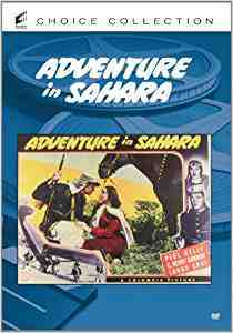 Adventure in Sahara DVD