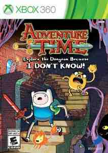 Adventure Time Explore Dungeon Xbox 360