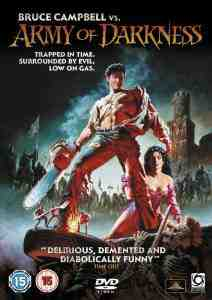 Army Darkness Evil Dead DVD