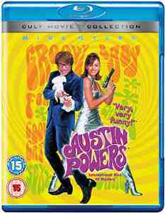 Austin Powers International Mystery Blu ray