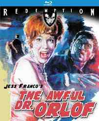 Awful Dr Orlof Remastered Blu ray