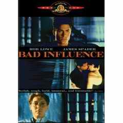 Bad Influence DVD cover