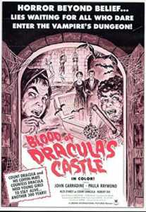 BLOOD OF DRACULA'S CASTLE. DVD