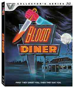 Blood Diner Blu ray Rick Burks
