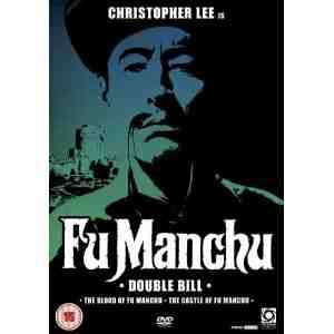 Blood Fu Manchu Castle DVD