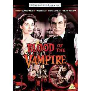 Blood Vampire DVD Donald Wolfit