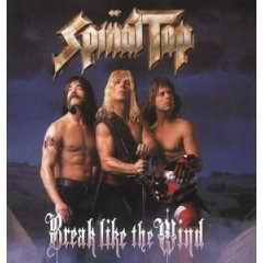 Break Like the Wind by Spinal Tap CD cover