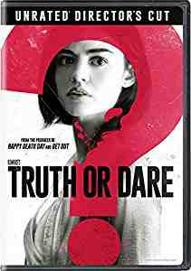 Blumhouse's Truth Or Dare DVD