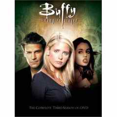 Buffy Season 3 DVD cover
