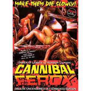 Cannibal Ferox DVD Region NTSC