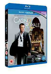 Casino Royale Blu ray UV Copy