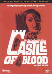 Castle Blood DVD Region 1