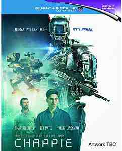 Chappie Blu ray Dev Patel