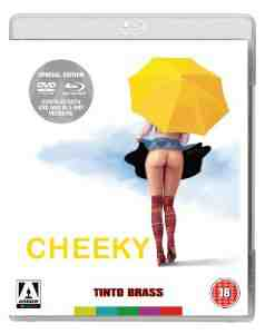 Cheeky Dual Format DVD Blu ray
