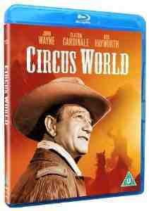 Circus World Blu ray John Wayne