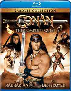 Conan Complete Barbarian Destroyer Blu ray