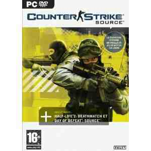 Counter Strike Source PC DVD
