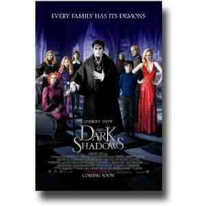 Dark Shadows Poster Teaser Johnny