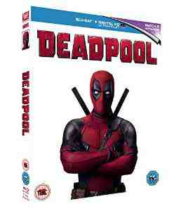 Deadpool Blu ray Ryan Reynolds
