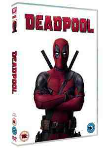 Deadpool DVD Ryan Reynolds