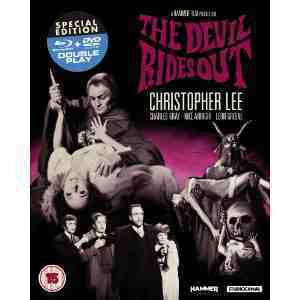 Devil Rides Out Blu ray DVD new art