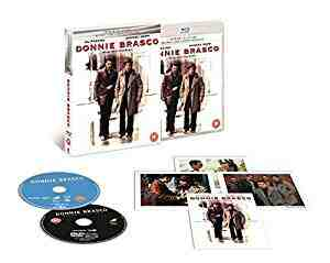 Donnie Brasco UK Bluray +Dvd + digital Download Exclusive The Premium Collection Extended Region Free DVDBlu-rayCombo
