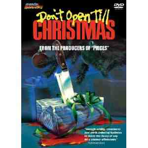 Dont Open Till Christmas DVD