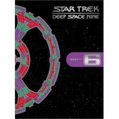 Deep Space Nine season 6 DVD cover