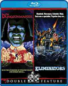 Dungeonmaster Eliminators Double Feature Blu ray