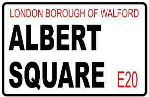 Eastenders Replica Albert Square Inches