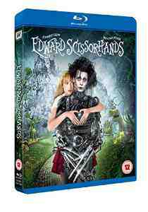 Edward Scissorhands 25th Anniversary Blu ray