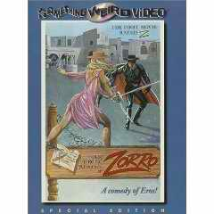Erotic Adventures of Zorro DVD