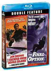 Escaped Devils Island Option Blu ray