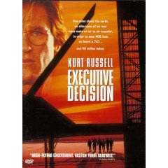 Executice Decision DVD cover