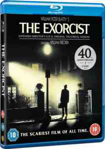 Exorcist 40th Anniversary Blu ray Region