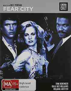 Fear City Blu ray REGION B