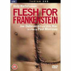 Flesh for Frankenstein DVD cover