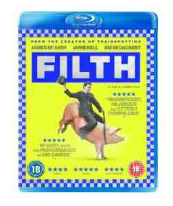 Filth Blu ray James McAvoy