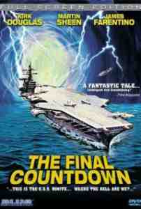 Final Countdown DVD Kirk Douglas
