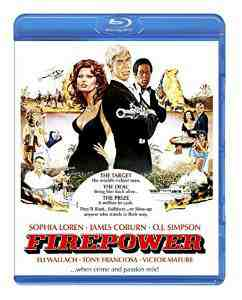 FirePower Limited Edition Blu ray Sophia