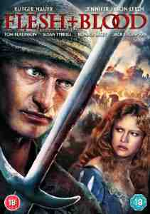 Flesh Blood DVD Rutger Hauer