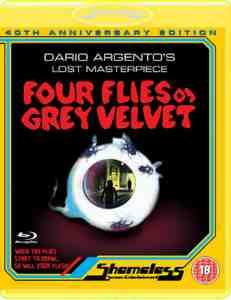 Four Flies Grey Velvet Blu ray