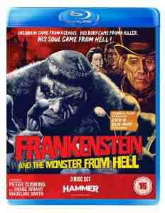 Frankenstein Monster Hell Peter Cushing